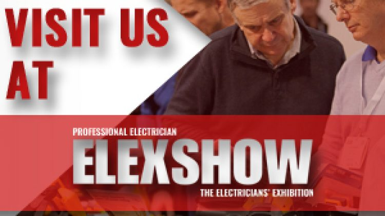 LINIAN will be exhibiting at the Professional Electrician Elexshow 2017