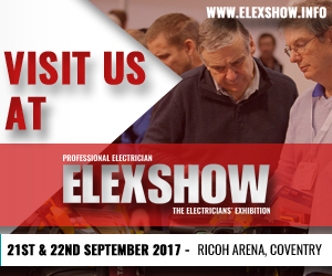 LINIAN will be exhibiting at the Professional Electrician ELEXSHOW, Coventry 2017