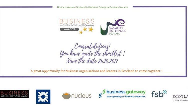LINIAN's Sales & Export Director, Lynne Jhangeer is nominated as Scottish Business Woman of The Year