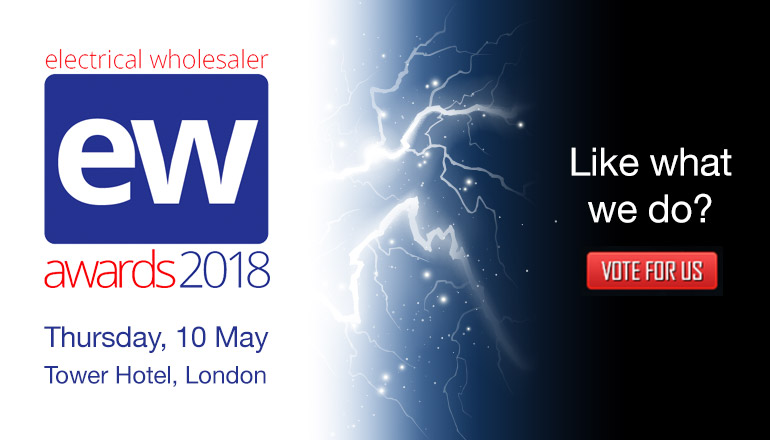You can vote now for LINIAN in the Electrical Wholesaler Awards!