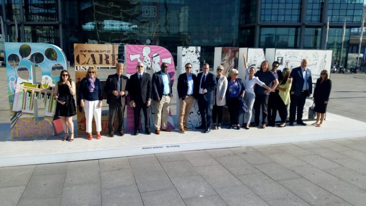 LINIAN take part in Berlin Trade Mission, led by the First Minister Nicola Sturgeon