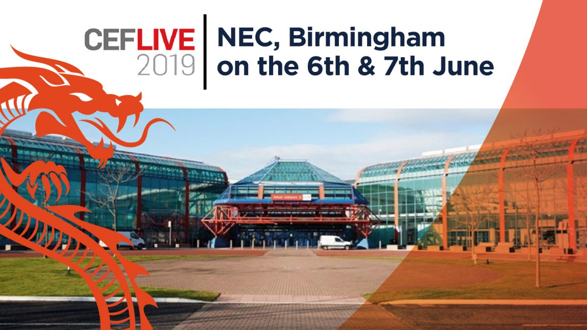 LINIAN to exhibit at the UK's BIGGEST Electrical Event: CEF LIVE 2019 on the 6th & 7th June!