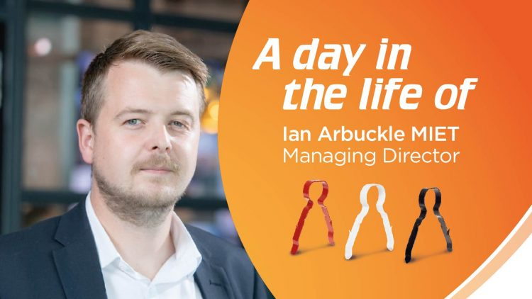 A day in the life of Team LINIAN's Managing Director –  Ian Arbuckle