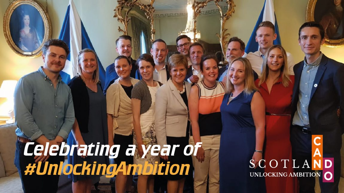 Unlocking Ambition:  One year accomplished and one more to go!