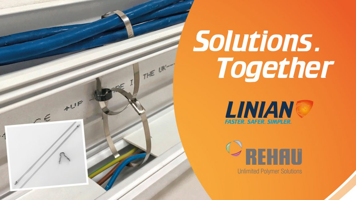 Proud to announce our first manufacturer collaboration with global Polymer Solutions Business, REHAU