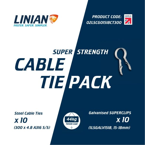 Super Strength cable tie pack