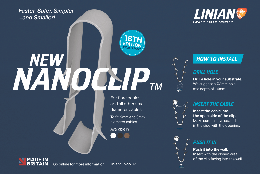 New NanoClip advert with Installation Instructions